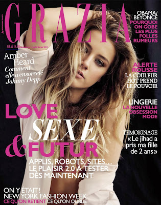 Amber Heard HQ Pictures Grazia France Magazine Photoshoot February 2014