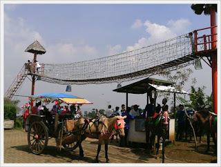 seputar cimahi jembatan gantung alam wisata cimahi cocok untuk wahana wisata anak-anak