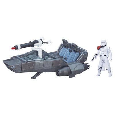 TOYS : JUGUETES - STAR WARS 7  First Order Snowspeeder | Vehículo + Figura  Episodio 7 El Despertar de la Fuerza Episode 7 The Force Awakens Producto Oficial Película Disney 2015 | Hasbro B3673 | A partir de 4 años Comprar en Amazon España & buy Amazon USA
