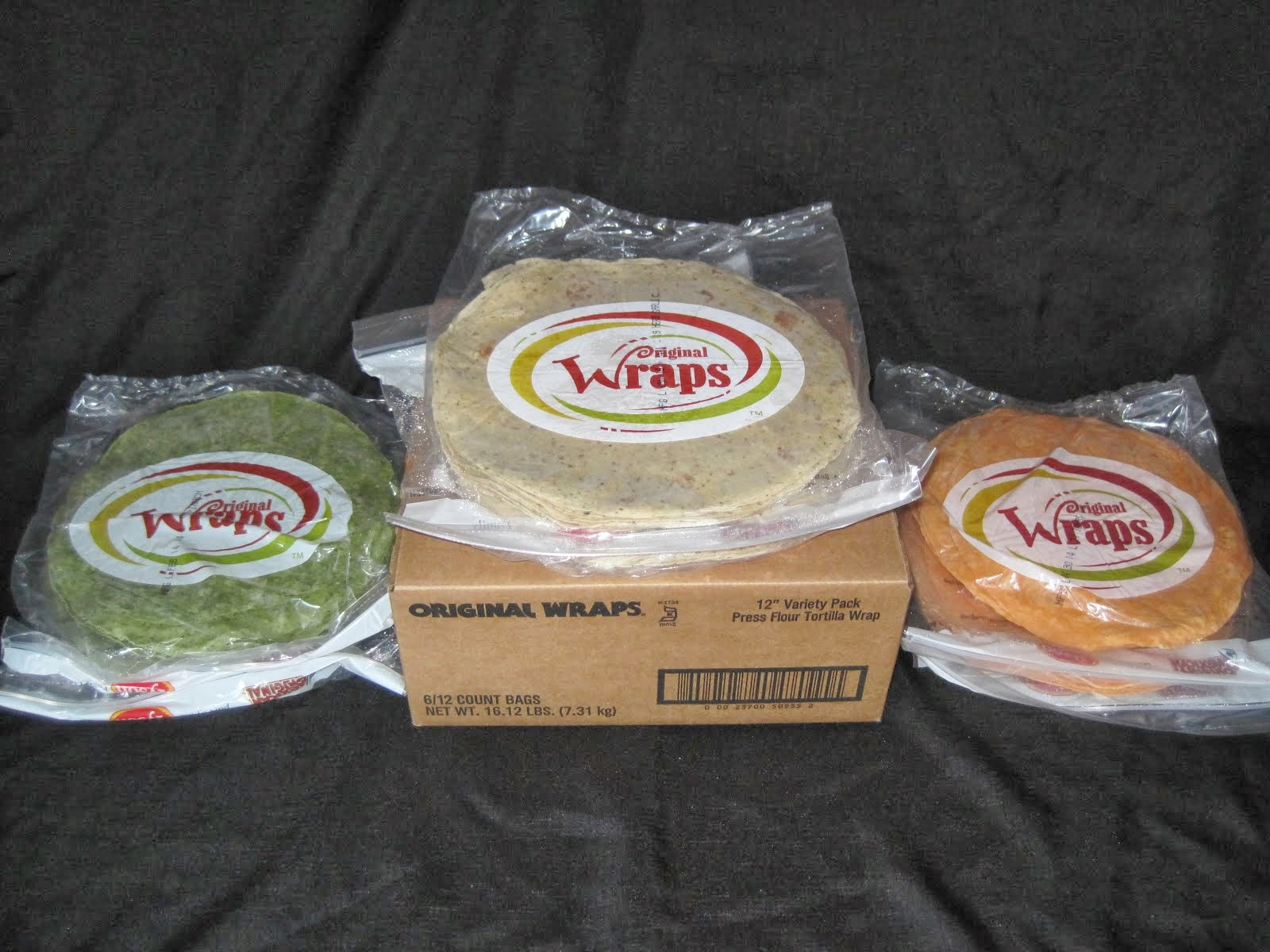 Assorted Wraps by Tyson 12 inch 72 ct - Item # 26580