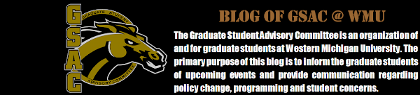 Blog of GSAC @ WMU