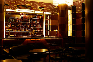 The art deco Bar Americain at Brasserie Zedel