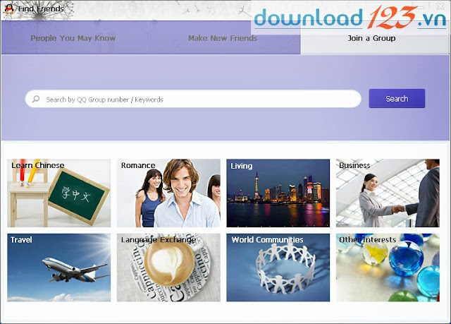 Hướng dẫn cách tạo tài khoản và sử dụng qq international