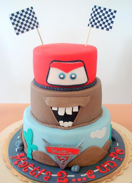 In cucina mi rilasso torta di compleanno quot cars per i