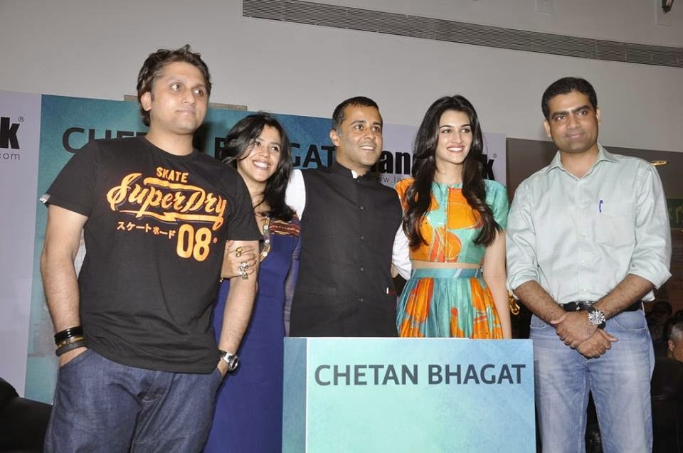 Celebs at Chetan Bhagat's 'Half Girlfriend' Book Launch