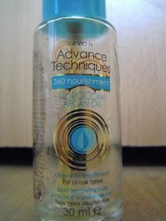 Avon, Advance Techniques 360 Nourishment, Moroccan Argan Oil-recenzja mojego ukochanego olejku marokańskiego