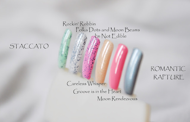 Deborah Lippmann Spring 2013. Staccato Collection