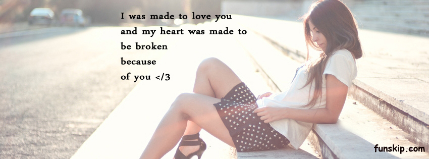 I was made to love you timeline covers