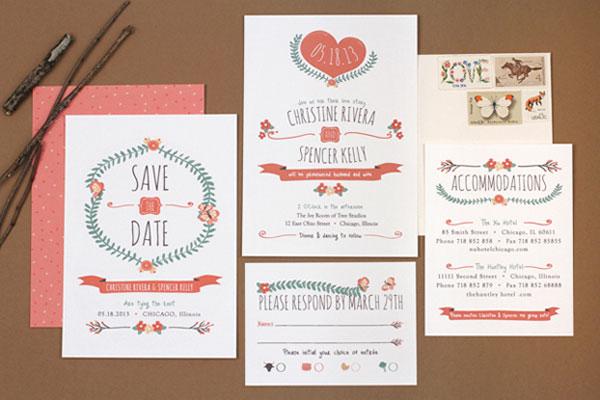 Save The Date Vs Wedding Invitation for luxury invitation template
