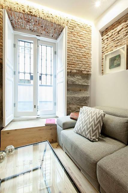 En casa de Diego: Buen ejemplo de minimalismo acogedor