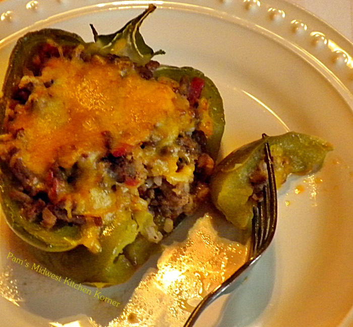 grew up with mom making stuffed green peppers and thought it was one ...