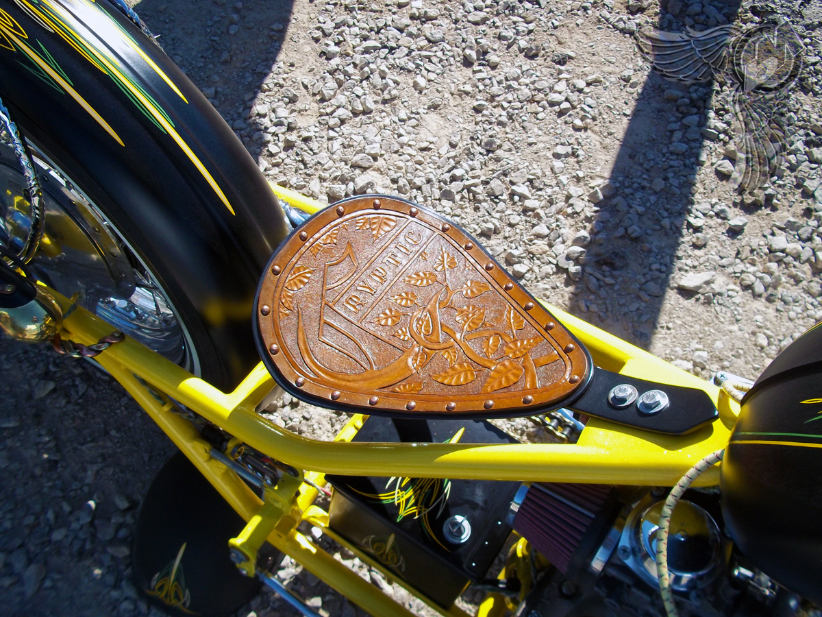 greaserama xs650 chopper seat and pinstriping   tools1