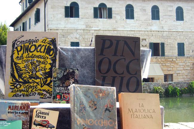 I Colori Del Libro Bagno Vignoni : Bagno vignoni da cristicchi a tabucchi le terme romane celebrano