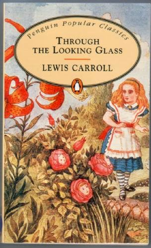 """""""through the looking glass"""" - Lewis Carroll."""