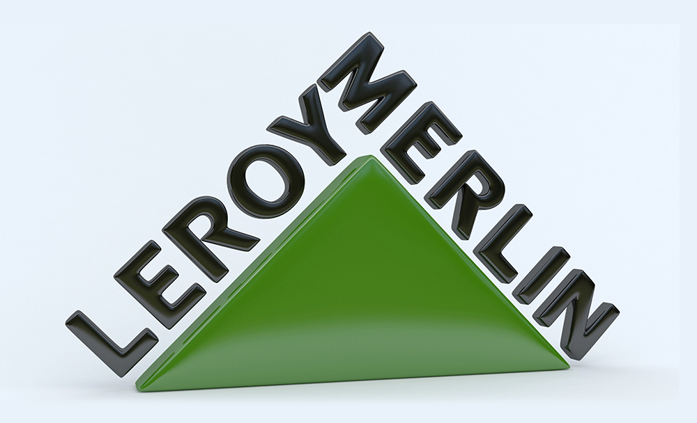 Twoninedesign leroy merlin logo 3d for Leroy merlin sdb 3d