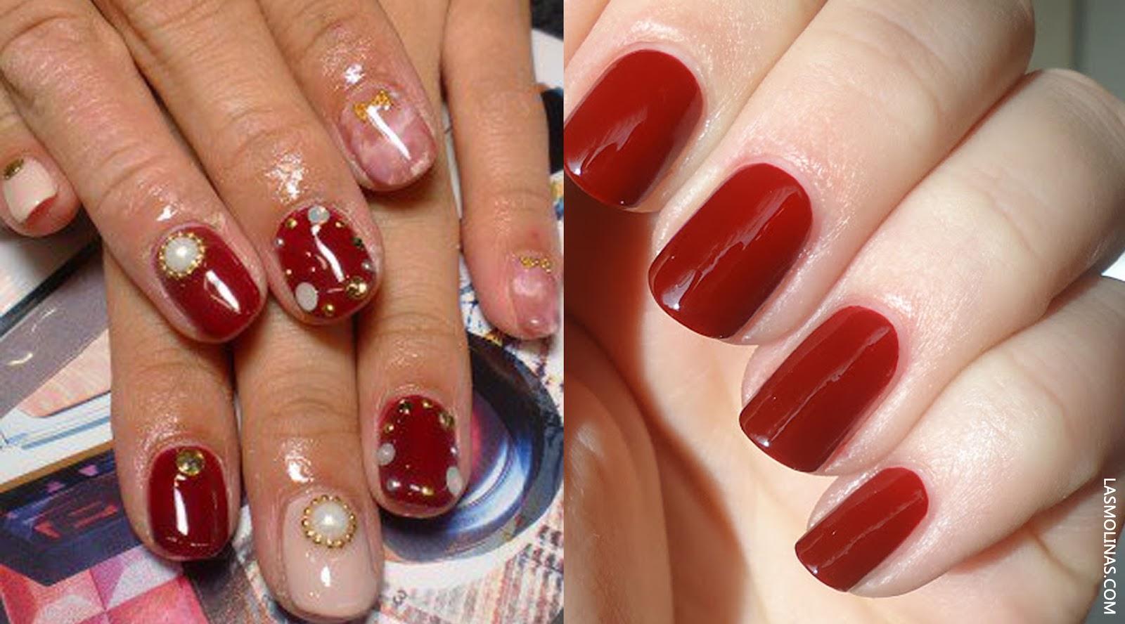 Esmalte de uñas STUDIO MAKEUP en tonalidades rojas ($5.50) encuéntralos en Almacenes Siman