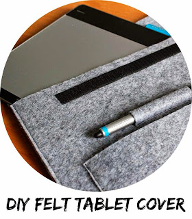 DIY Tablet cover