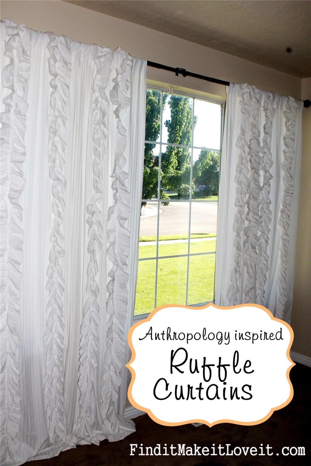 Ruffled curtains tutorial - Ruffled Curtains Tutorial 29