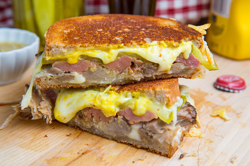 Cuban Grilled Cheese Sandwich on Closet Cooking