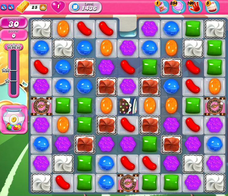 Candy Crush Saga 1436