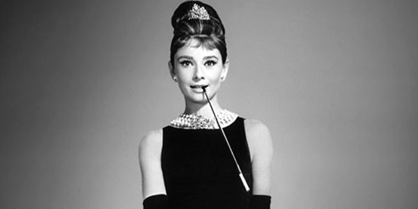 Audrey Hepburn in the movie Breakfast at Tiffanys 1961