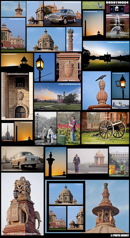 During last weekend I was looking at various collages on internet and found them fascinating enough to try one with my photographs.. I picked some of the photographs from Indian President House Photo-Shoot and created this one. Overall I think it's not bad and will try few more to improvise :)Please leave you comment with suggestions for further improvements !!!