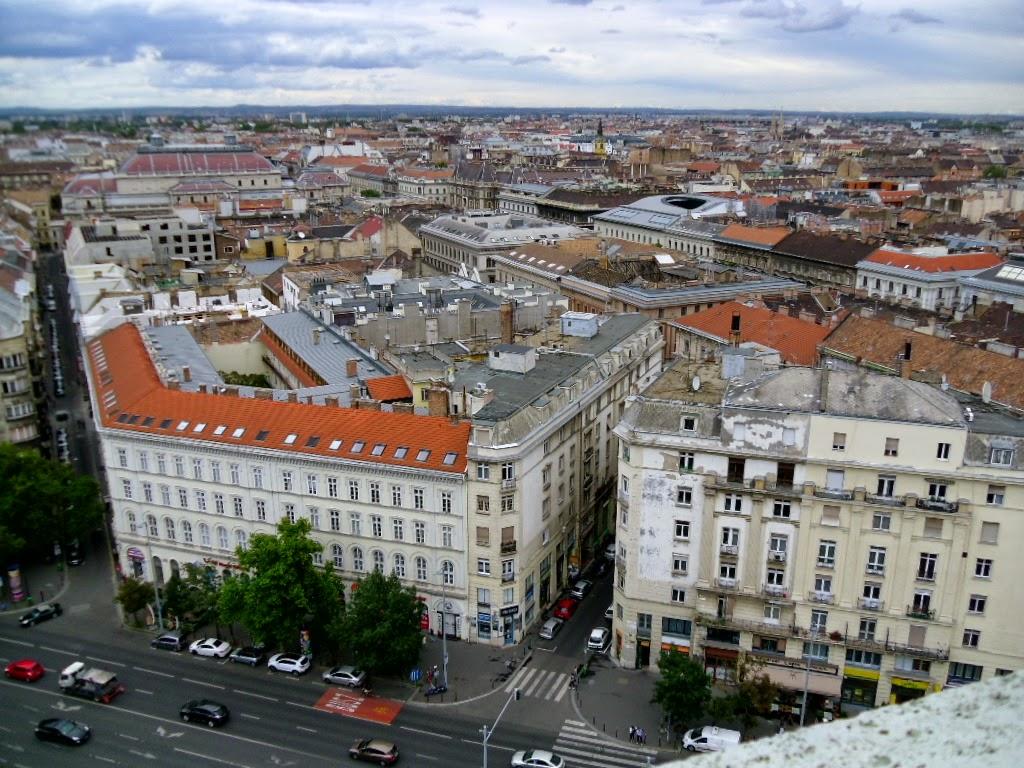Vista da Basílica Santo Estevão Budapeste
