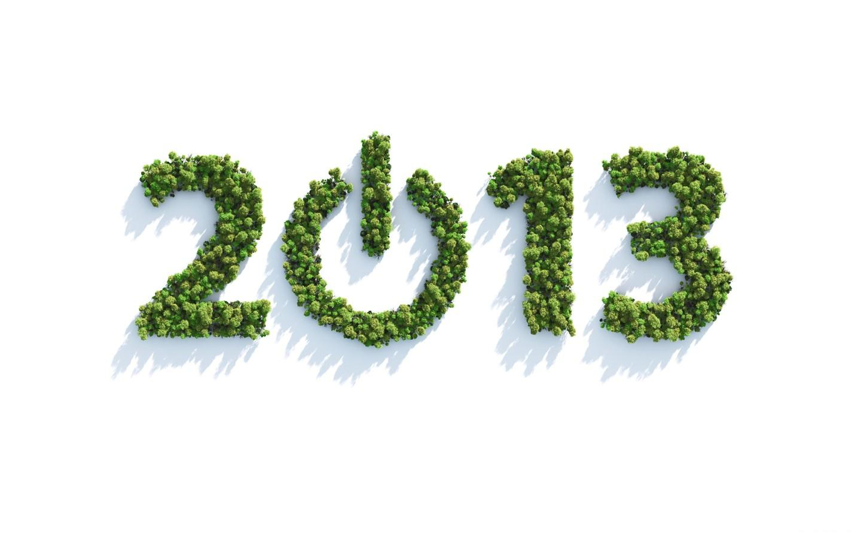 2013 3D Wallpaper Happy New Year