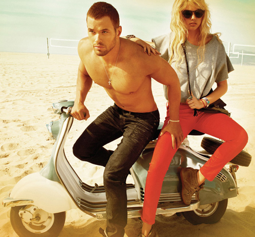Watch Kate Upton and Kellan Lutz in Abbot Main Fall 2012 Campaign video