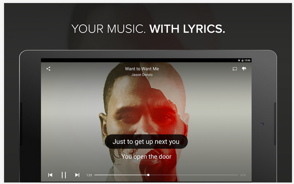 Musixmatch, Aplikasi Musik Player lengkap dengan Lirik Untuk Android