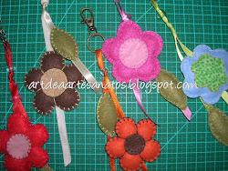 Chaveirinhos de flor