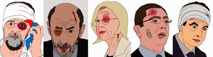 Rajoy, Rubalcaba, Rosa Díez, Gallardón, Zapatero, nuevo tema de Amaral 2014