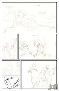 dessinateur illustrateur graphiste animateur bande dessinee croquis illustration crayonne animation graphisme artist illustrator graphic design animator comic book sketch sketches jonathan jon lankry essai planches projet oublie forgotten project