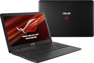 Asus ROG GL551JW for windows xp, 7, 8, 8.1 32/64Bit Drivers Download