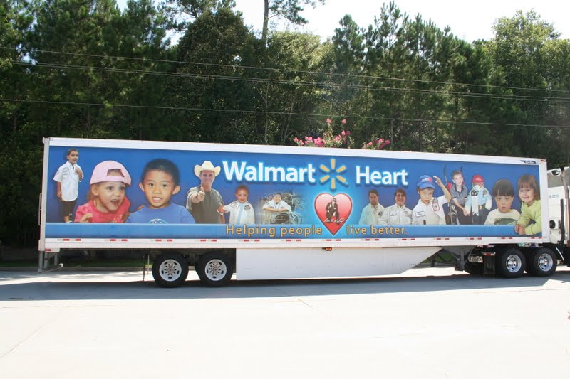 big blueberry eyes the walmart heart truck. Black Bedroom Furniture Sets. Home Design Ideas