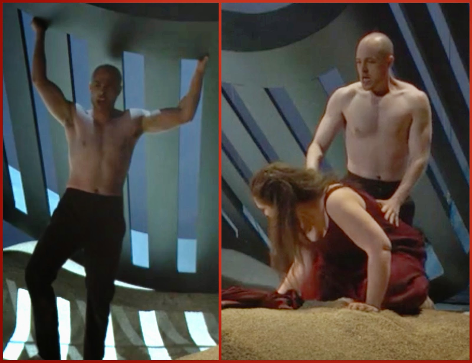 Shirtless And Marching To His Own >> Barihunks March 2015