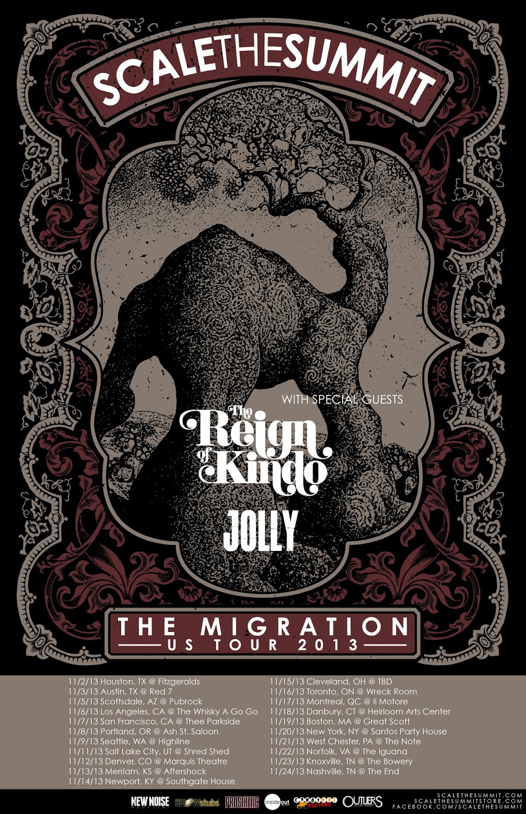 Scale The Summit Headliners In The Migration Us Tour
