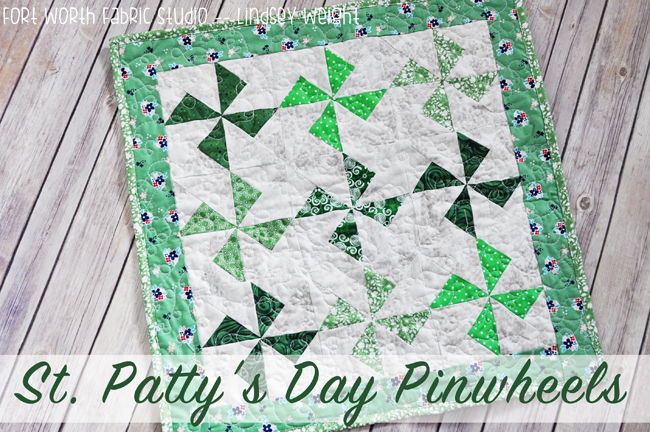 St. Patrick's Day Quilt