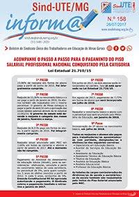 Boletim Inform@ nº 158 - Estadual