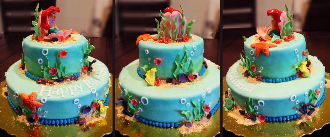 Sweet Dreams Little Mermaid Birthday