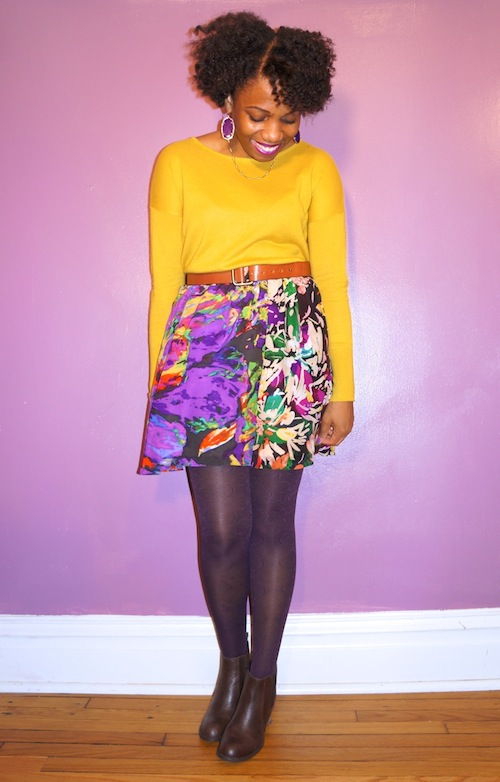 Mustard and Purple—A Fall Color Combo