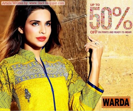 Warda Prints Eid Ul Azha/Midsummer Dresses