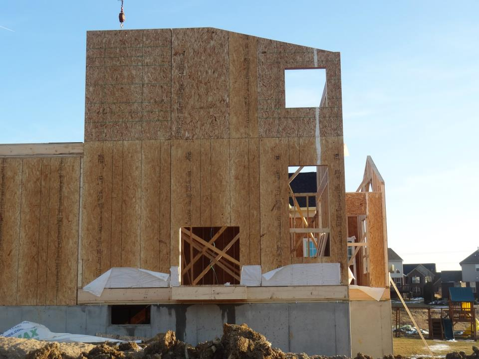Building Our Ryan Homes Dunkirk 1st Floor And 2nd Floor Framing