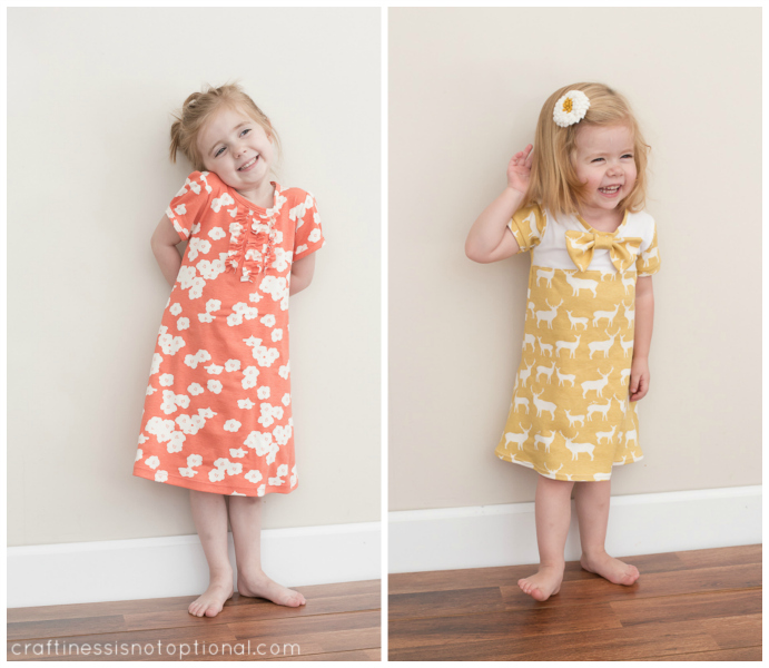Simple Knit Dress Pattern : birchfabrics: Tutorial: Easy A-Line Knit Dress and Tips for Sewing With Knits...