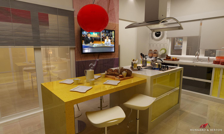 cozinha amarela daquelas de novela !!! confira aqui meu novo projeto #B70A07 1500 900