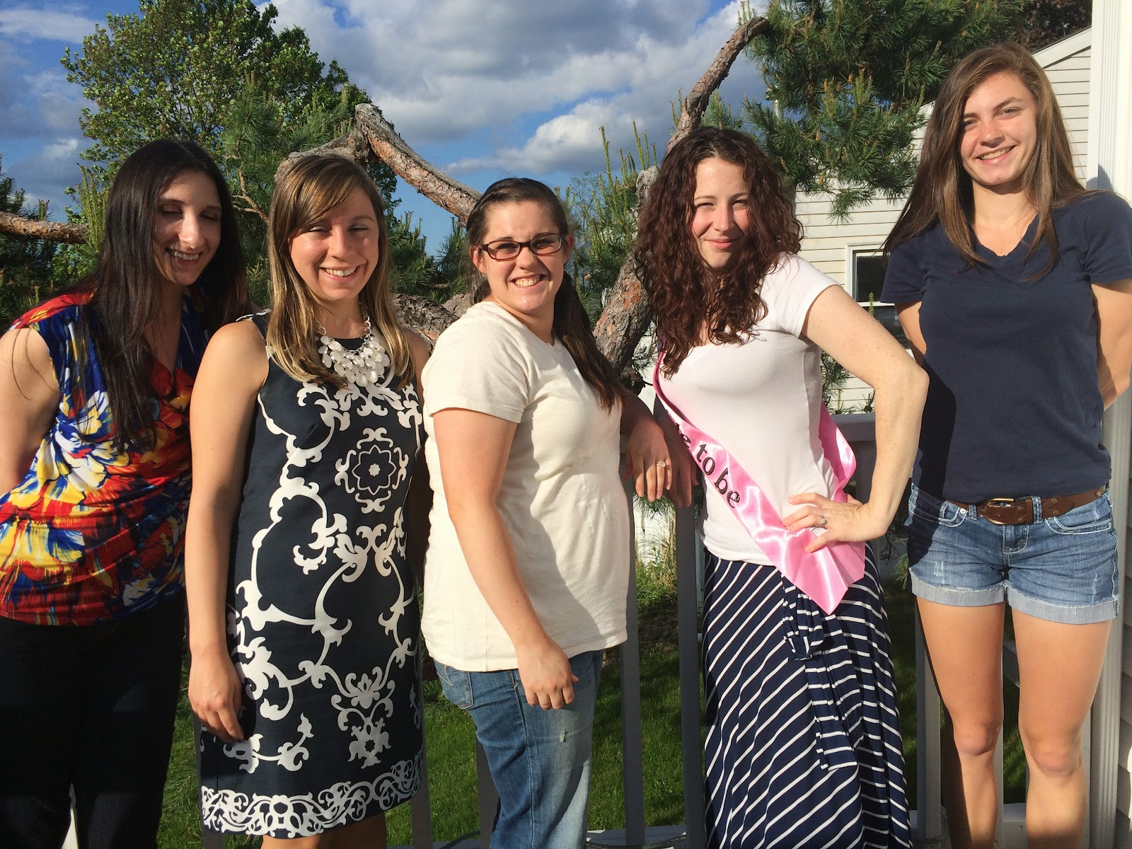 Doeblerghini Bunch:  Bridal Shower Picture Post - Bridesmaids Picture