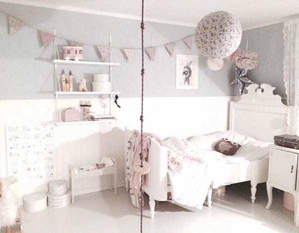 Ideas deco habitaciones infantiles de estilo n rdico para - Dormitorios infantiles nordicos ...