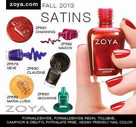 Zoya Nail Polish: Satins