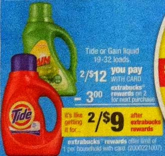 Tide on Sale at CVS Week of 5 25 2014