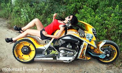 t-rex-Traverston-motorcycle-bike-girl-image-photo-galery-hd